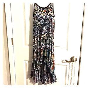 Spring multicolor mermaid dress